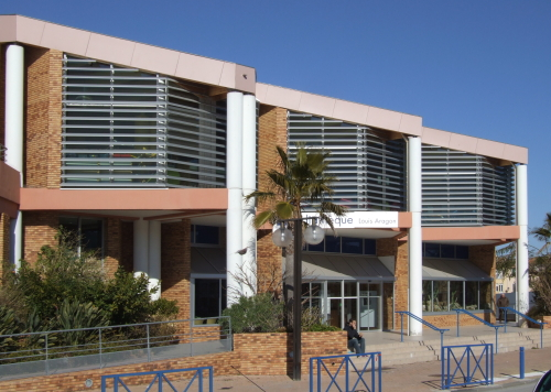 La médiathèque de Martigues
